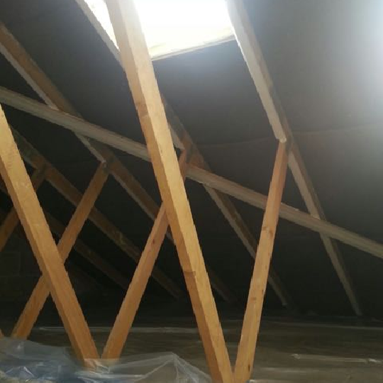 Before installing roof insulation foam